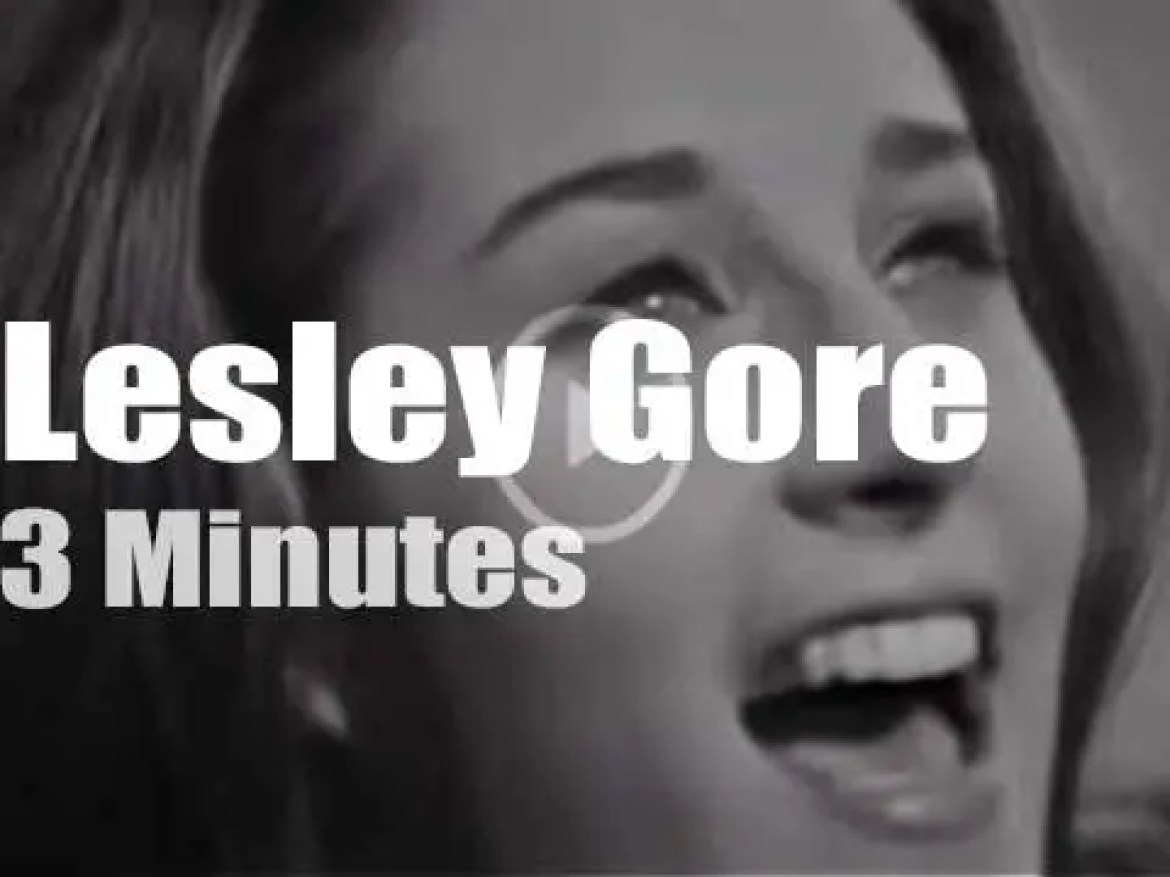 On TV today, Lesley Gore and her party at 'The Ed Sullivan Show' (1963)