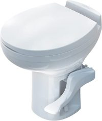 Is it ok to use household toilet chemicals in/on my RV toilet?