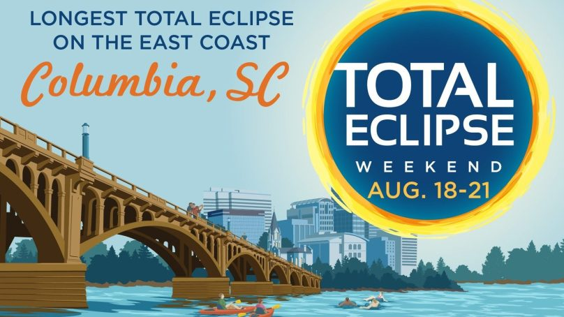 The East Coast Total Eclipse Capital is Columbia, SC This August
