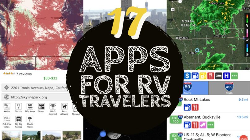 The Best Apps for RV Travelers
