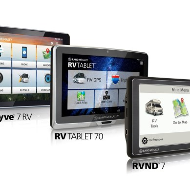 Rand McNally Introduces 3 New RV GPS Devices