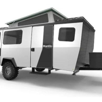 "TAXA Introduces Sleek 2,300 Pound ""Mantis"" Hybrid"
