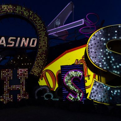 Neon Museum in Las Vegas Launches Immersive Projection Experience, Bringing Unrestored Signs to Life