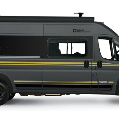 Winnebago Announces National Park Foundation Partnership, National Park Edition Travato