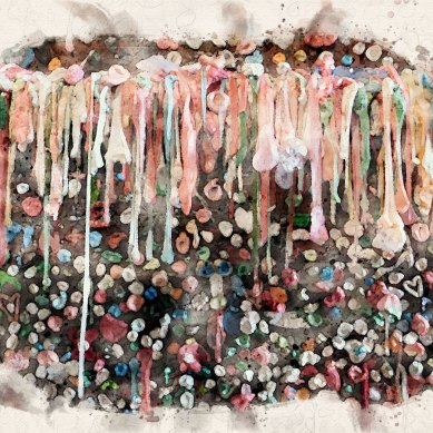 See America | The Market Theater Gum Wall
