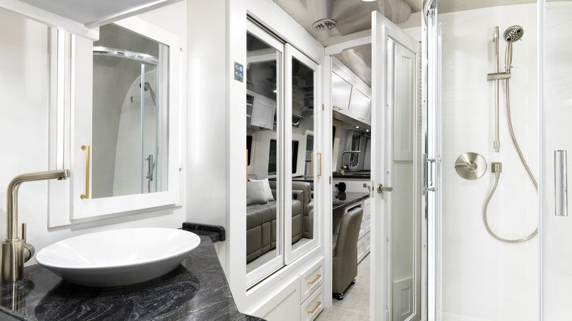 "Airstream Introduces ""Comfort White"" Interior"