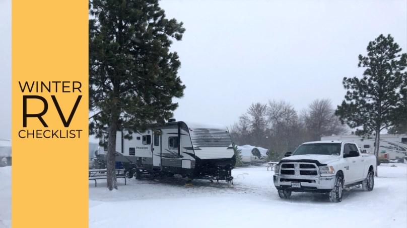 Winter RV Checklist