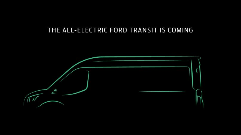 Ford Announces US-Built Electric Transit Chassis