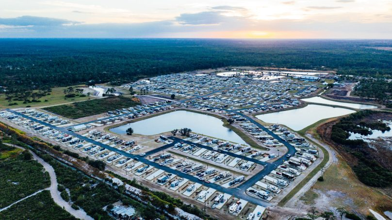 7000 Campsites Under Construction in Florida Can't Come Too Soon