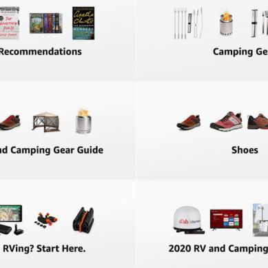 RV Miles Amazon Store