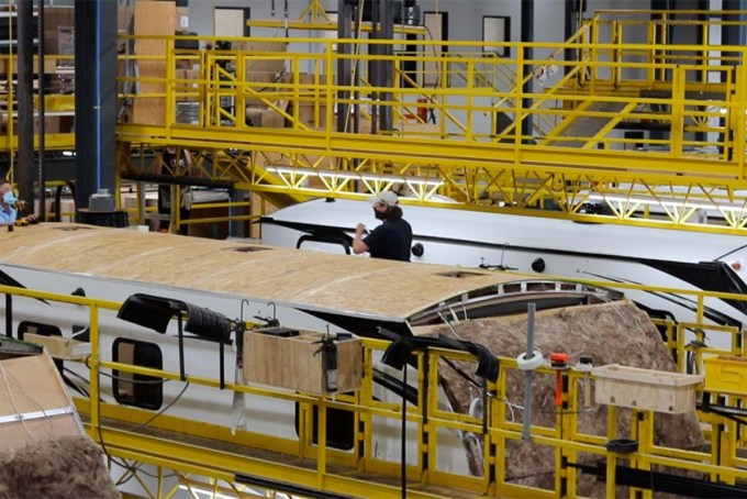 Thor Industries will expand two of its biggest nameplates, building in Michigan's St. Joseph County.