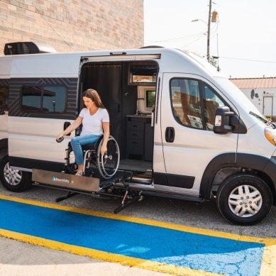 "Winnebago's New B Van — Accessibility Enhanced ""Roam"""
