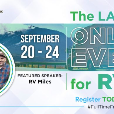 RV Miles Joins Full-Time Freedom Week Event