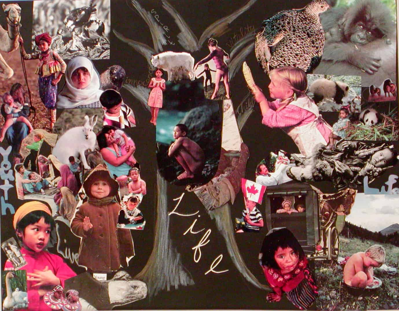 """LIFE""  by Natasha Compton & Maddy Stokes"