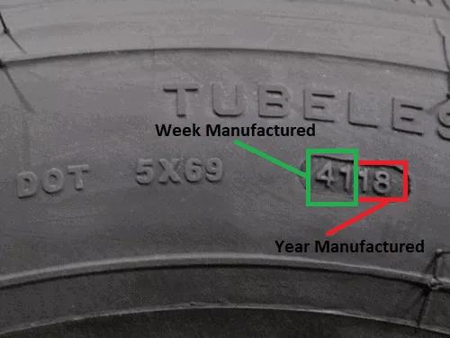 DOT RV Trailer Tire