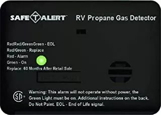 RV propane detector lifespan