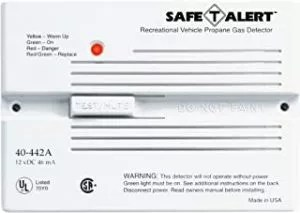 MTI Industries 40-441-P-WT Safe T Alert 40 Series