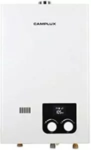 Camplux 10L High Capacity Color Screen Propane Tankless Water Heater