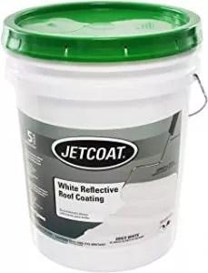 Jetcoat White Reflective Roof Coating