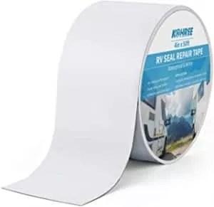 Kohree RV Sealant Tape, 4 Inch x 50 Foot RV White Roof Seal Tape UV & Weatherproof Sealant Roofing Tape for RV Repair