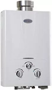 Marey Power Propane Gas Digital Panel Tankless Water Heater