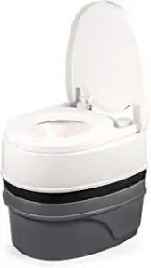 Camco's 5.3-gallon portable toilet
