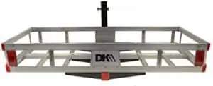 K2 500-Pound Hitch-Mounted Aluminum Cargo Carrier
