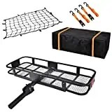 USSerenaY Hitch Cargo Carrier - Trailer Hitch Luggage Rack