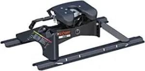 CURT 16181 A25 5th Wheel Hitch with Base Rails, 25,000 lbs