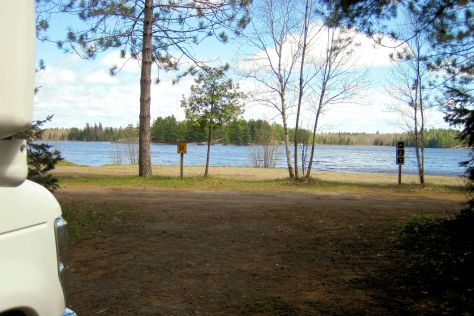 Grundy Lake Provincial Park Rv Camping Review Rv Places To Go
