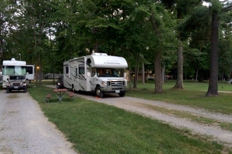 Frankenmuth Pine Ridge Rv Campground Camping Review Rv