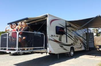 RV Rental with Deck