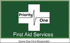 Game Day Sponsor: Priority One First Aid Services - http://www.priorityonefas.com/