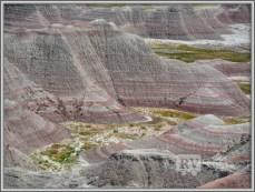 Rock Formations at Badlands. Badlands National Park. South Dakota. Photo Credit: Stephen Jones
