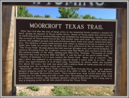 Moorcroft Texas Trail