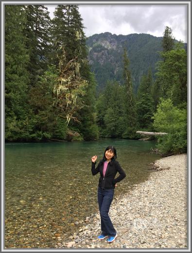 Weiwei By Cascade River