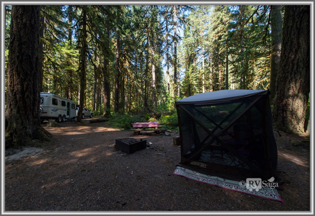 Camping in Mt Baker-Snoqualmie National Forest