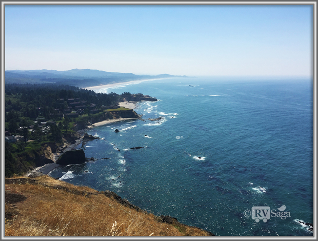 Land and Seascape at Cape Foulweather, Oregon