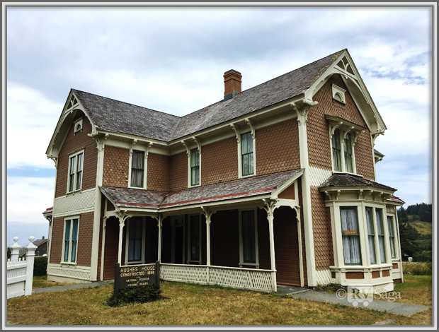 Historical Hughes House, Port Orford, Oregon