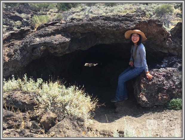 Lava Tube Near Fleener Chimneys, Lava Beds National Monument