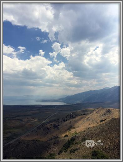 Overlooking Mono Lake