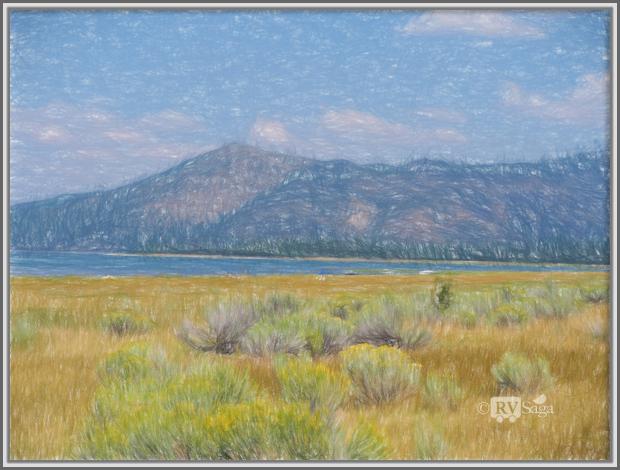 A Little Monet of Eagle Lake