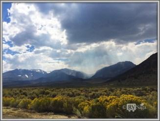 Sierra Range Near Lee Vining