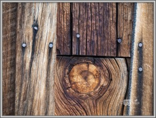 Weathered Wood On A Building, Bodie