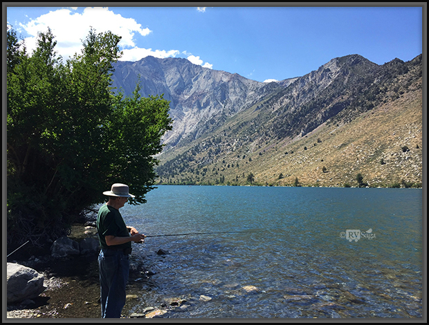 Fishing At Convict Lake