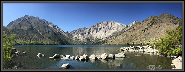 Panoramic View of Convict Lake