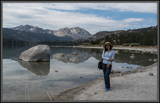 Weiwei by June Lake