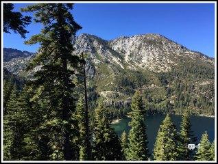 Emerald Bay of Lake Tahoe. California