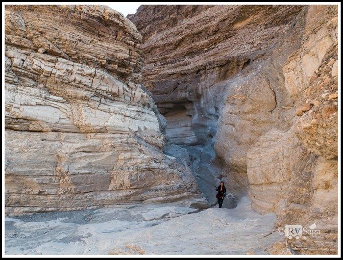 Weiwei at Mosaic Canyon