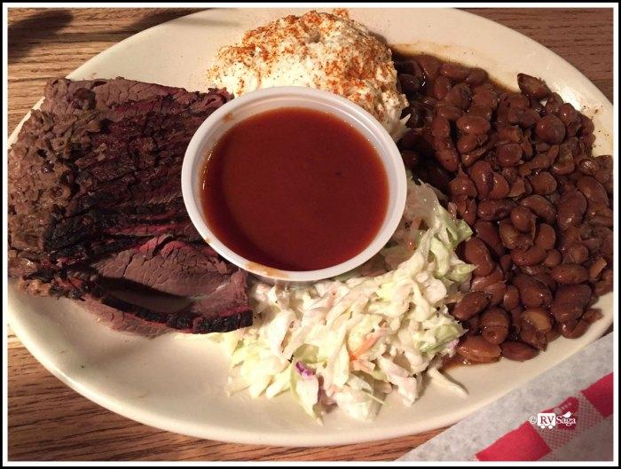 Beef Briskets at State Line Restaurant